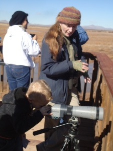 Through her work at Southeastern Arizona Bird Observatory, Sheri teaches hundreds of children each year.